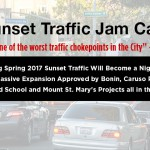 Sunset Traffic Jam Cam