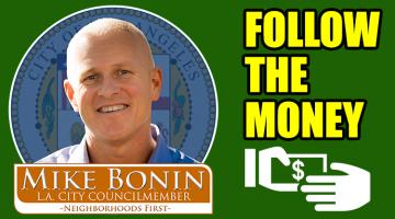 Developers put Thousands of Dollars in Bonin's Pocket